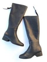 Lucky Brand Womens Size 8 Over The Knee Riding Boots Lanesha Solid Black - $93.49