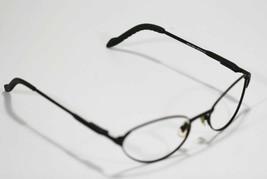 Fossil Unisex KIRBY Matte Black Metal Eyeglass Frames Designer Style Rx Eyewear - $9.12