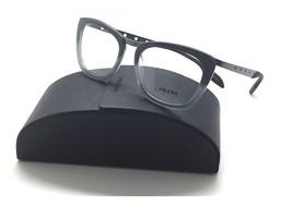 Prada Eyeglasses VPR 60R TV8-1O1 Gradient Grey Authentic Rx 51/18 /140 Italy New - $96.97