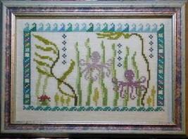 Octopus's Garden cross stitch chart Ink Circles  - $5.40