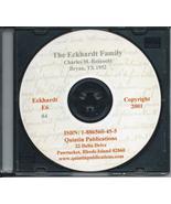 CD: The Eckhardt Family - $2.57
