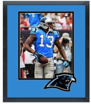 Kelvin Benjamin 2014 Carolina Panthers - 11 x 14 Team Logo Matted/Framed... - $836,92 MXN