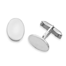 9302 oval engravable cuff links thumb200