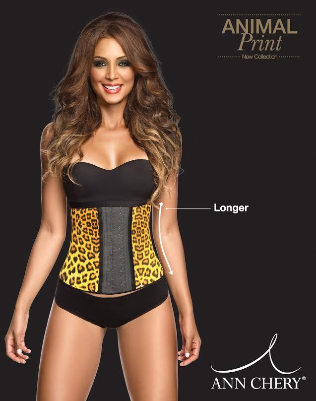 93251523d89 Ann Chery Animal Print Leopard Latex Waist and 45 similar items