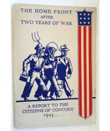 Home Front After Two Years War Report Citizens Concord New Hampshire 194... - $9.99