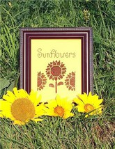 Sunflowers cross stitch chart Flowers 2 Flowers - $5.40