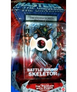 MOTU Masters of the Universe Battle Sound Skeletor with Special Video - $13.95