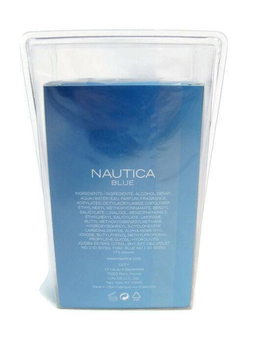 Nautica Men's Eau De Toilette Cologne Spray Coty Blue 0.5 Fl Oz NEW Sealed image 3