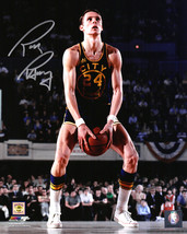 Rick Barry Signed Golden State Warriors Under Hand Free Throw 8x10 Photo - $60.00