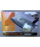 LevelOne WNC-0500USB MIMO Wireless USB Adapter **MISB** - $19.75