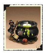 """Boyds Bearstone Votive """"Witchy Boo's Brew"""" #27740- Candle -NIB-2004- Ret... - $29.99"""