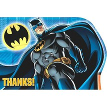 Batman Birthday Party Thank You Cards, Envelope... - $5.69