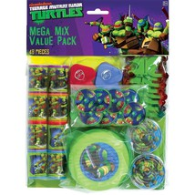 Teenage Mutant Ninja Turtles Plastic Favors 48 pieces Party Favor Pack - $18.99