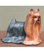 Hevener Collectible Yorkshire Terrier Dog Figurine Limited Edition  - $65.00