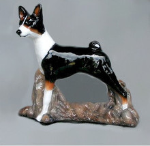Basenji Dog From Hevener Figurines - $60.00