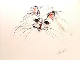 Persian Cat Print - $50.00