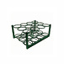 Roscoe Medical Roscoe M6 cylinder rack, with bolt down bars, green powde... - $76.48