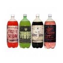 Halloween Prop Label Sticker Soda Pop Drink Venom Decor Arts Craft Party... - £9.49 GBP