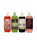 Halloween Prop Label Sticker Soda Pop Drink Venom Decor Arts Craft Party... - £9.26 GBP