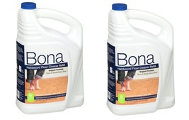 Bona Hardwood Floor Cleaner Refill 128 oz with - Pack of 2 - $77.99