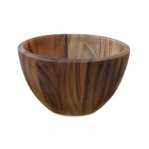 Gourmet Acacia Wood Salad Fruit Serving Bowl Di... - $78.19