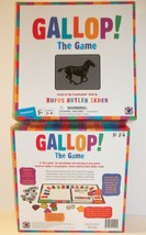 Preschool Board Game No Reading Gallop Horse Scanimation Rufus Butler Seder - $26.72