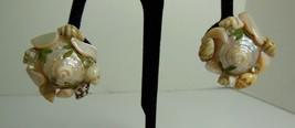 Sea Shell Clip on Earrings - $4.95