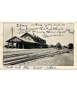 Erie Railroad Depot Salamanca New York 1914 Post Card - $6.00