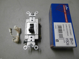 Leviton 5501-8 15A,120/277V,Toggle Hospital Call Switch, Commercial Grade,Brown - $3.18