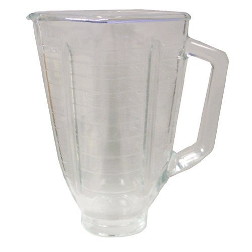 Primary image for Oster 5 cup glass square top blender jar.