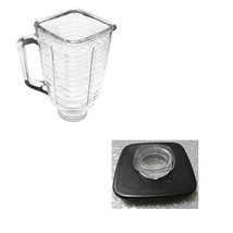 NEW 1pcs For Replacement Part Oster glass square jar+jar cap blender bla... - $22.53