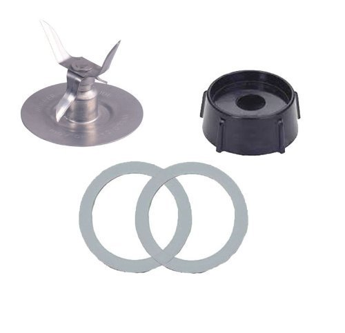 Oster blender blade with Jar Base & 2 gaskets replacement part - $9.99