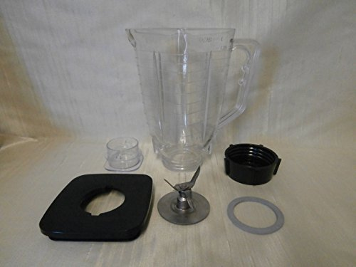 Primary image for Oster 5 Cup, Square Break Resistant Plastic Blender Jar Complete Set