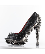 Hades TALON Goth Skeleton Spinal High Heel Open... - $151.19