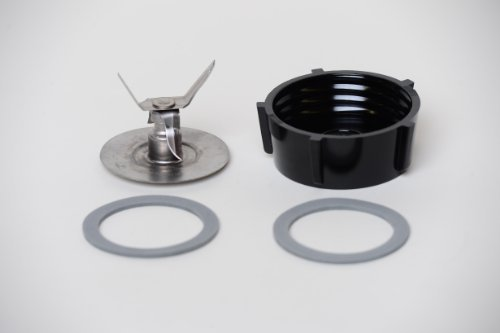 Primary image for Oster Ice Crusher Blade 4961 With Jar Base & 2 Rubber O Ring Seal Gaskets