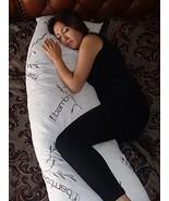 """Bamboo Covered 60"""" Full Body Stay Cool Shredded Gel Memory Foam Pillow,H... - $61.99"""
