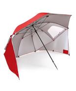 Beach Sun Umbrella Portable Weather Shade Shelter Park Camping Wind RainTent RED - $68.99