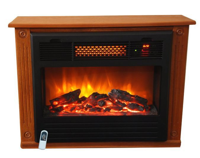 electric fireplace heater infrared quartz portable space bedroom