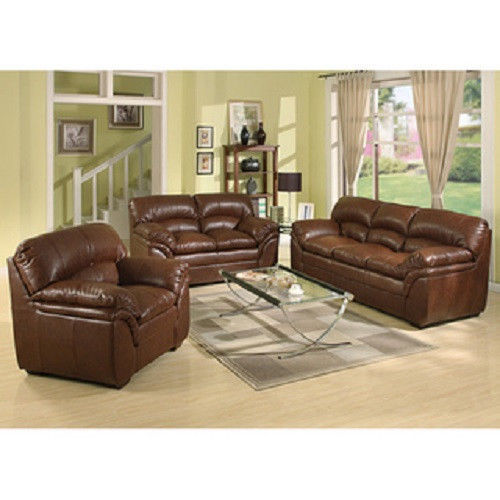 Bonded Leather Chair Furniture Living Room Den Office