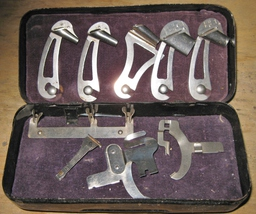 Vintage Vibrating Shuttle Binder Bed Attachments In Accessories Box Plus - $15.00