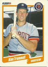 1990 Fleer Canadian Alan Trammell 617 Tigers  - $1.00