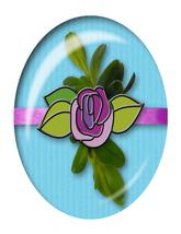 Light Blue Flower Brad-Digital Download-ClipArt-ArtClip-Digital Art - $4.00