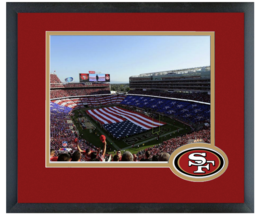 Levi's Stadium 2014 New Home of the 49ers -11 x 14 Matted/Framed Photo  - $43.55