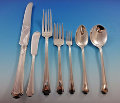 Georgian Colonial by Wallace Sterling Silver Dinner Flatware Set Service 62 Pcs - $3,150.00