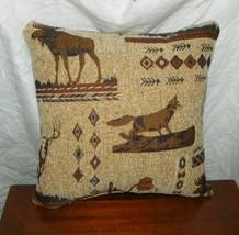 Beige Brown Northern Exposure Decorative Throw Pillow - $29.95