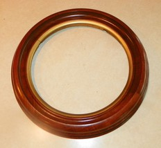 Round Walnut Picture Frame   (BM) - $149.00