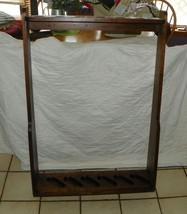 Solid Walnut Hanging 6 Gun Shelf Gunlock  (JLC-SH20) - $299.00