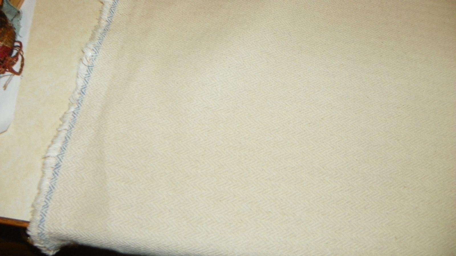 Off White Chevron Nylon Upholstery Fabric  1 Yard  R408