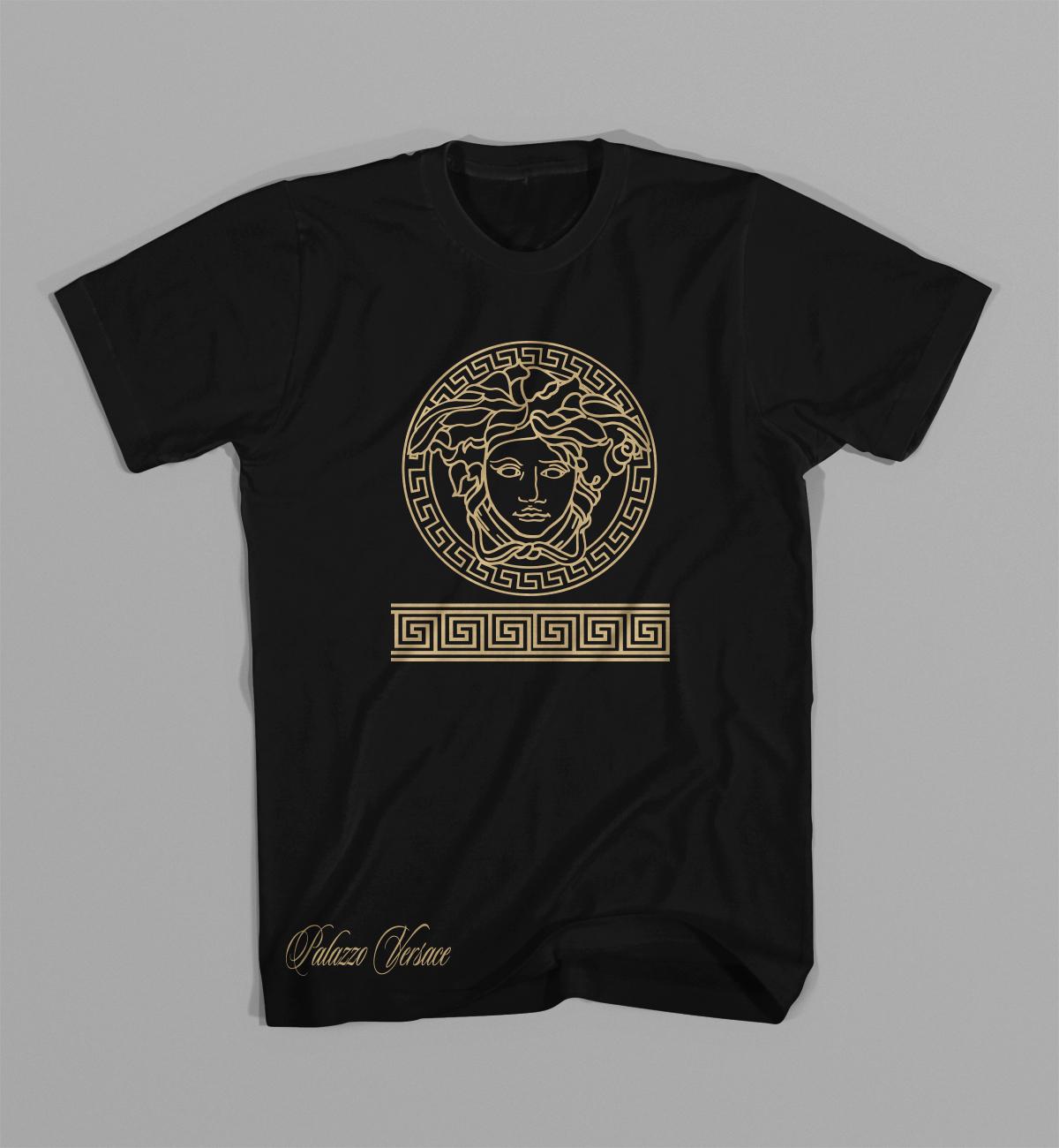 Medusa Gianni Versace T Shirt