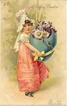 A Joyful Easter Paul Finkenrath of Berlin 1908 Post Card - $7.00